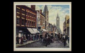 Tom Dodson 1910-1991 Artist Pencil Signed Ltd Edition Colour Lithograph / Print - titled