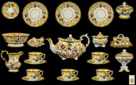Hammersley Superb Quality Hand Painted Fine Bone China ( 65 ) Pieces,