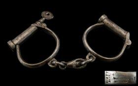 Victorian Hand Cuffs.