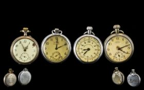 Collection Of Early 20th Century Pocket Watches.