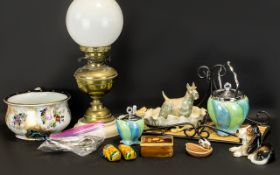 Box of Assorted Porcelain,