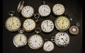 Collection Of Pocket Watches.