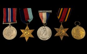 World War II Collection of Military Meda