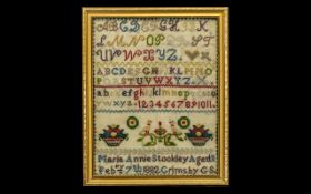 Victorian Period Alphabet and Pictures C