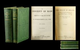 Charles Darwin Book of The Origin of the