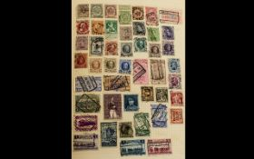 Diamond Spring Back Stamp Album full of