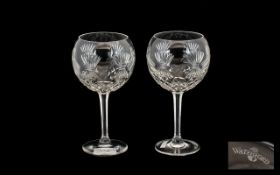Waterford Crystal Glasses. Large and imp