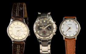 Three Gentleman's Watches comprising a S