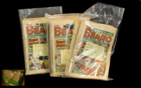 Very Large Quantity of Beano Comics. Inc