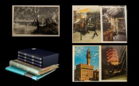 Collection of Postcards in albums, inclu