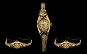 Jovial Swiss Art Deco Ladies Wrist Watch,