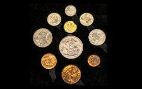 Royal Mint Festival of Britian 1951 Proof Struck 10 Coin Set.