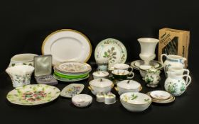 Collection of Assorted Porcelain & Pottery to include a Wedgwood 'Coronation' Jug and a Wedgwood