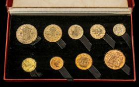 Royal Mint George VI Nine Proof Struck Coin Set to Celebrate the End of Austerity In Britian,