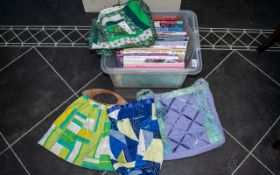 Sewing Interest - Large Collection of Quilting Books to include some quilted bags.