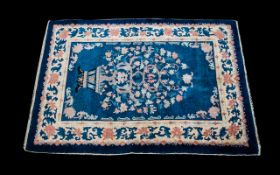 Antique Period Chinese Carpet bought in china in 1920s during travels.