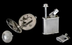 Ronson Novelty Art Deco Atomiser Chrome Plated Perfu-Mist In The Form Of A Lighter.