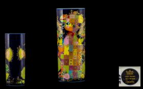 Rosenthal - Bjorn Winblad Studio-Line Handpainted & Signed Pillow Vase '1001 Nacht'.