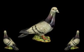 Beswick Bird Figure ' Pigeon ' - 2nd Version - Two Stripes on Wings.