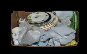 Collection of Vintage Porcelain and China to include a collection of decorative plates;