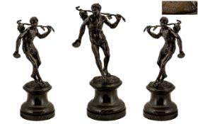 """G. Roth"" - German 19th Century Sculptor"
