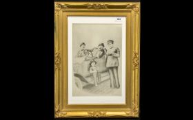 Laurel & Hardy Limited Edition Print of