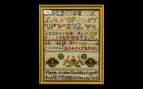 Grimsby by Girls School Sampler by Maria