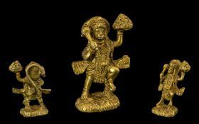 Late 19th Century Indian/Tibetan Cast Fi