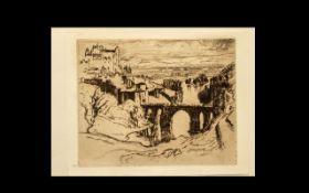 Joseph Pennell American Artist (1860-192