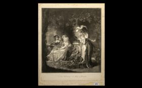 Henry Fuseli R.A Engraving Beatrice List