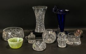 Collection of Glass Ware to include a Co