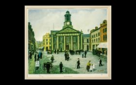 Tom Dodson Print 'The Old Town Hall'. F