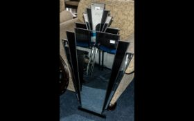 Art Deco Style Mirror. Vintage style Ar