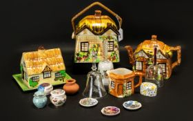 Collection of Vintage Cottage Ware Potte