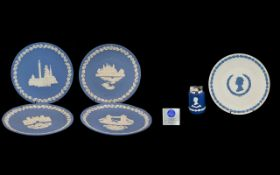 Wedgwood Blue Jasper Silver Jubilee Coro