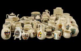 Collection of Crested Souvenir Pieces, 4
