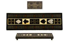 Regency Antique Cribb Gaming Board in th