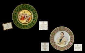 Caverswall China 1978 Christmas Plate Li