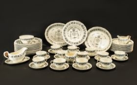 Grindley Royal Cauldron Passover 67 Piec