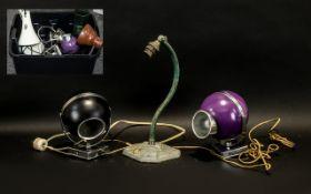 Art Deco Lamp & Others. Deco Lamp of lov