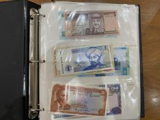 Banknote Album Containing A Quantity Of Mostly Modern Mint World Banknotes, Over 120 Countries,