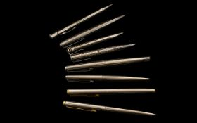 Collection Of Four Propelling Pencils Makes To Include Parker, Jif,