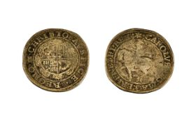Charles 1st Silver Halfcrown in fair condition.