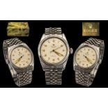 Rolex Oyster Precision Gents Steel 1950's Wrist Watch - s.n. 764152 - date 1952.