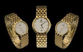 Raymond Weil Stylish 18ct Gold Electro Plated - Fidelio Gents Wrist Watch Model No.