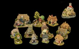 A Collection of Lilliput Lane Cottages. All with original boxes.
