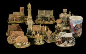 A Collection of Lilliput Lane Cottages. Majority with original boxes.