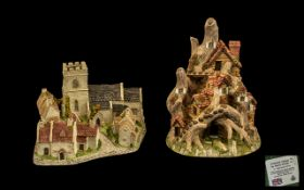 David Winter Collection Cottages all handmade and hand painted, and all with original boxes and