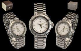 Baume & Mercier Formula S Quartz Gents Steel Wrist Watch MV04F029. Serial number 5059424.
