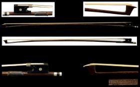 Violin Bow by German Maker Bausch nickel